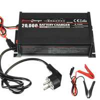 New 12V 20A Battery Charger For Lead acid Battery Fully Automatic 7 Stage Charger