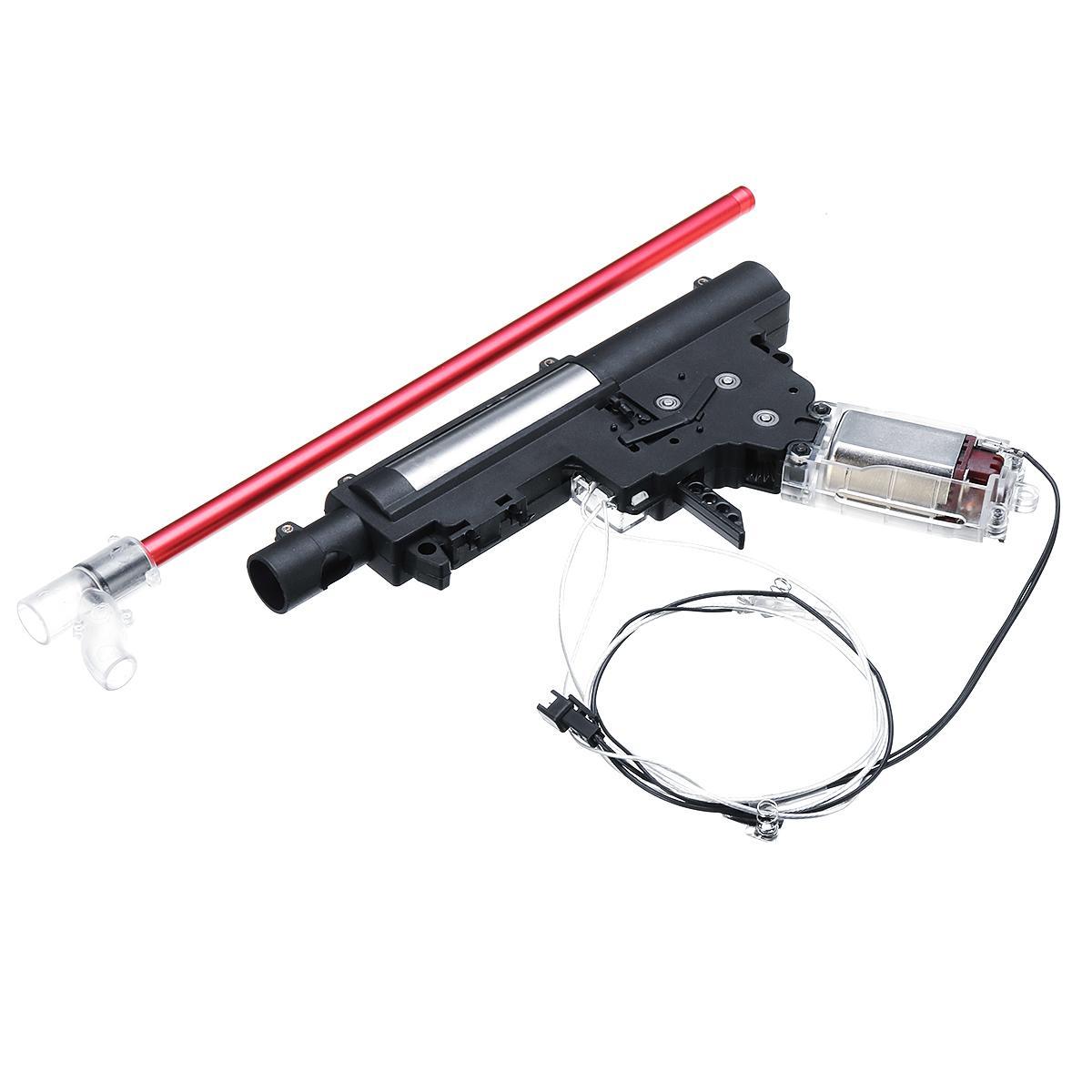 Atualização Kit Caixa de Velocidades para JinMing M4A1 Gen8 Jateamento De Água Bola Gel Substituição Acessórios do Brinquedo Água Gu ns Nylon Kit De Caixa De Velocidades