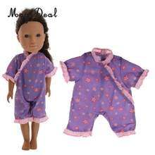 Fashion Dolls Outfit Clothes Romper Jumpsuit Japanese Style Sleepwear for Doll Accessory Children Girls Toys(China)