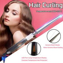 65W 110V-240V 21-30MM LED Curling Iron Hair Curler  Professi