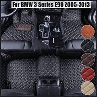 foot case car floor mats for BMW 3 series E90 E91 E92 E93 318d 320d 320i 325i 328i 325D 330d 335D 330i 335i 2005~2013