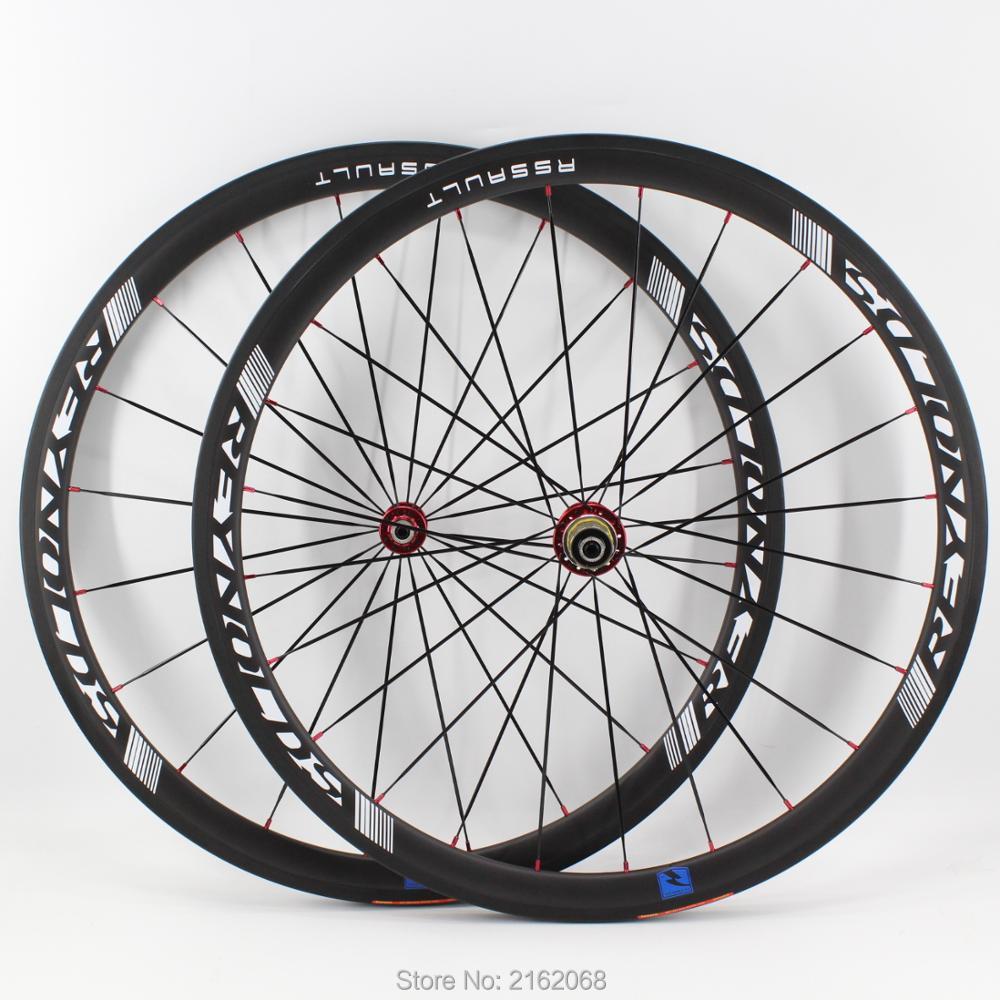 Newest blue 700C 38mm Road bike matte UD full carbon fibre bicycle wheelset carbon clincher tubular