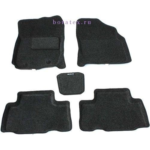 3d ковры BORATEX BRTX-1015 для Toyota RAV 4 06 2006-2012 темно-серый