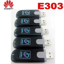 Brand New Unlocked Genuine Huawei E303 HSDPA 7.2Mbps GSM 3G USB Modem GPRS WIFI 2018 new hot sale 3g gsm modem sim5320e modem rs232 mini usb interface data transfer single port 3g sms modem