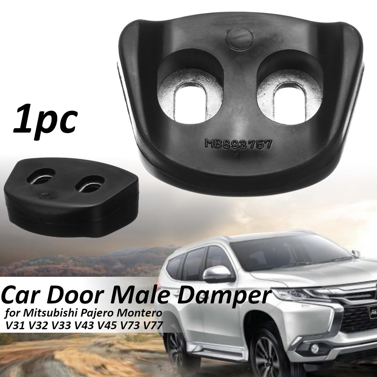 Smart Car Door Bumper Male Dampers Buffer Pad Anti Shock Bump Stop Rubber For Mitsubishi Pajero Montero V31 V32 V33 V43 V45 V73 V77