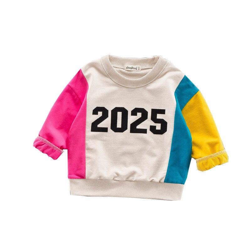 3c3ead220082 2019 New Brand Spring Children Girls Boys Long Sleeves T-Shirts ...