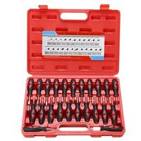 23pcs Car Electrical Terminal Wiring Crimp Connector Pin Remover Tool Release Set
