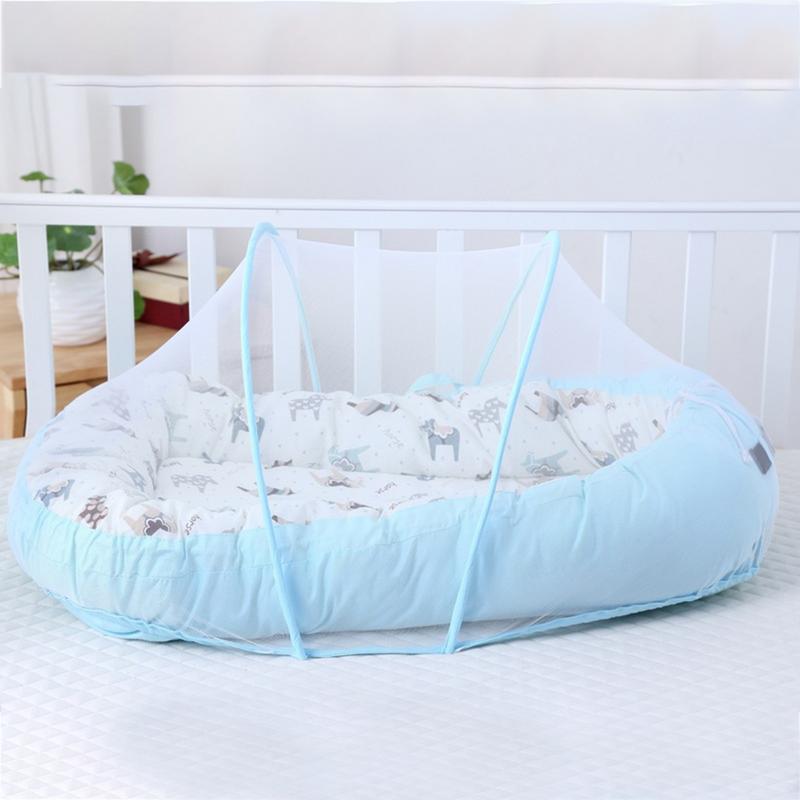 Lit bébé nid berceau Portable amovible et lavable lit de voyage pour enfants bébé enfants berceau en coton pliant lit bébé