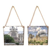 Notre Dame Wooden Hanging…