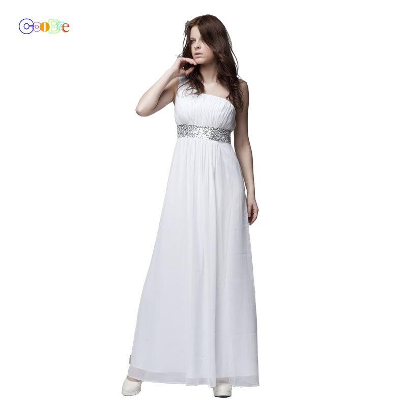 Long   Bridesmaid   Chiffon   Dress   Fancy One Shoulder Beaded Pleat A-line Long Chiffon   Bridesmaid     Dress   Long   Dress     Bridesmaid   BR07111