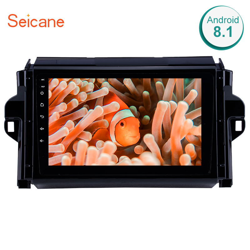 Seicane 2din Android 8 1 Touchscreen Car Radio Wifi GPS Navigation Stereo For 2016 2017 2018
