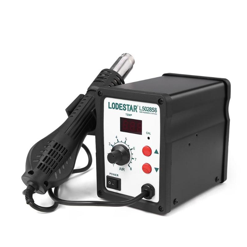 LODESTAR 700W Soldering Station Digital Soldering Iron Desoldering Hot Air Welding Gun Rework  Welding ToolsLODESTAR 700W Soldering Station Digital Soldering Iron Desoldering Hot Air Welding Gun Rework  Welding Tools