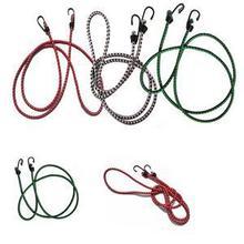 1 шт., 1,5 м, Эластичный банджи-шнур, крючки, брендовая велосипедная веревка, галстук, автомобильный багаж, багажник на крышу, ремень, крючки для велосипеда