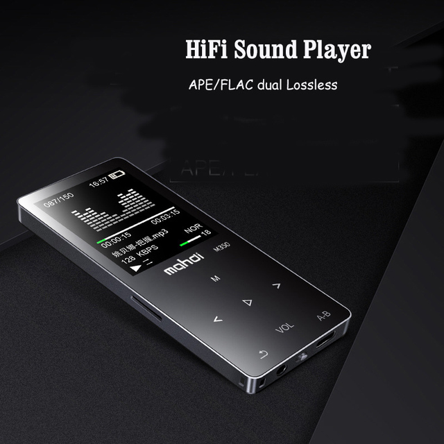 מהדי M350 8G HIFI MP3 נגן 8 GB מתכת גבוהה איכות צליל ברמת כניסה Lossless מוסיקה נגן תמיכה TF כרטיס FM