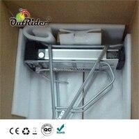 Ücretsiz Kargo 36V 20/21Ah Arka Taşıyıcı e-bike pil kiti OR02A3