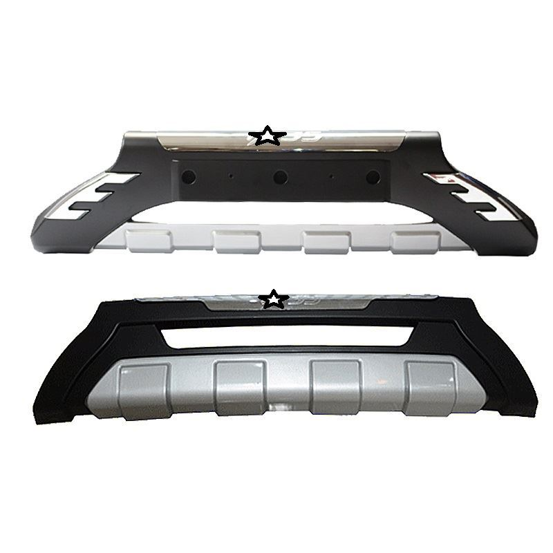 Modified Modification Exterior Parts Front Lip Tuning Car Rear Diffuser Bumpers 09 10 11 12 13 14 15 16 18 FOR Hyundai IX35 in Bumpers from Automobiles Motorcycles