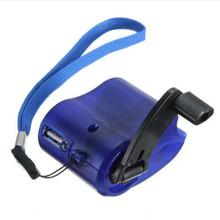 Universal Portable Emergency Hand Power USB Charging Charger Hand Crank for Mobile Phones Camping Backpack Survival Tool 2019