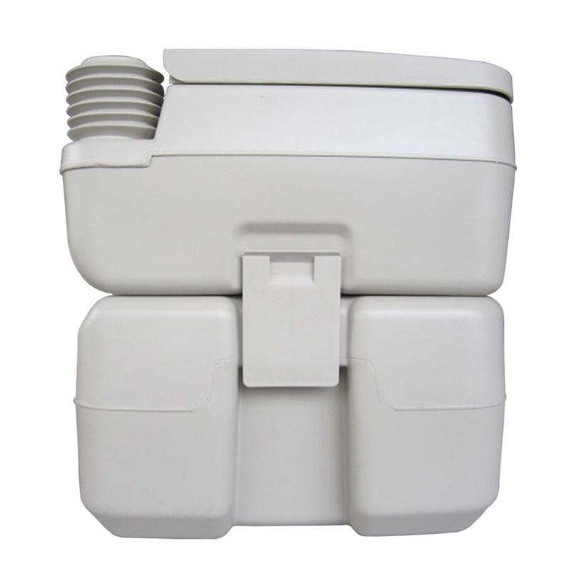 CHH 1020T de toilette amovible 20L mises à niveau de rinçage Portable peut déplacer toilette modifiée RV Camping en plein air voyage randonnée équipement - 5