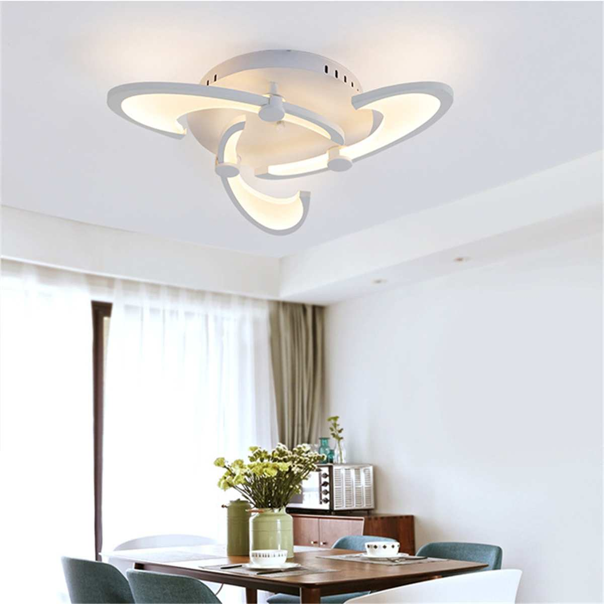 Modern-Remote-Control-Indoor-Lighting-Acrylic-Ceiling-Light-For-Living-Room-Nordic-Minimalist-6-3-Head Ideas For Dining Room Nordic @house2homegoods.net