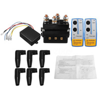 500A Winch Remote Kit 12V 500A Contactor Winch Control Solenoid Relay Twin Wireless Remote Recovery Car Motorcycle Accessories