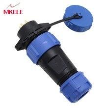 Luchtvaart Plug Waterdichte Connector Kabel Connectoren Stekker En Stopcontact SP21-7P Geschikt 8-12mm Conversie
