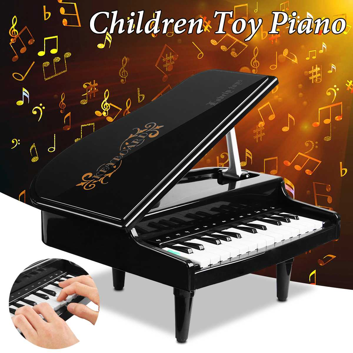 2018 New Arrivals 24Keys Educational Eletric Piano Toy For Kids Toy Music Instrument Musical Toy Gift For Children