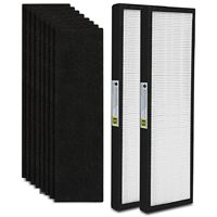 10 Pack FLT4825 True HEPA Air Purifier Filter B Replacement Compatible for GermGuardian Models AC4825 AC4850PT AC4900CA PureGu