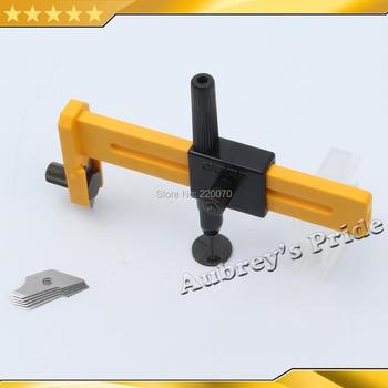 Średnica Cut 10-150 MM rozmiar cięcia regulowany okrągły obrotowy koło graficzne papier trymer Cutter nóż + 5- 25 szt ostrza tanie i dobre opinie 10-150mm Plastic