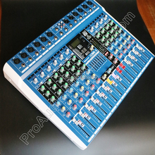 Original Picture 10 Channel Mixer Sound Console Wireless Bluetooth USB 24bit DSP 48V Phantom Power Mixing Console Mixer in Stock evl32 060d evl32 055 original power modules in stock