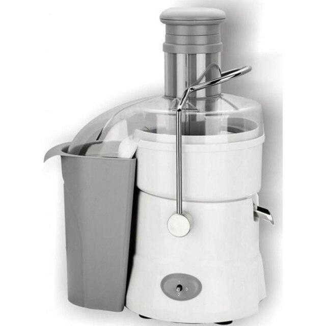 Соковыжималка электрическая MYSTERY MJE-1905 white (Мощность 700 Вт, фильтр из нержавеющей стали, защита от включения при незакрытой крышке, капля-стоп)