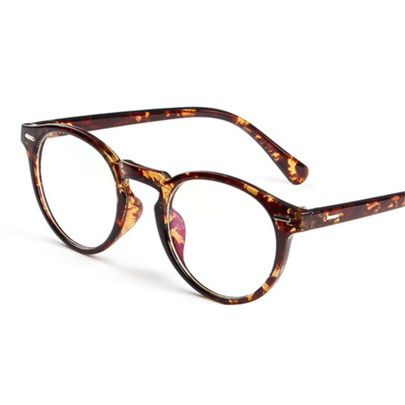 XojoX Glasses Frame Optical Fake Glasses Women Vintage Fashion Round Eyewear DesignerTransparent Eyeglasses Frames Men