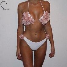 Santune 2019 Two Piece Set Summer Style Women Bodysuits Sexy Beachwear Lady Bodycon