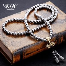 WorthWhile Tactical Buddha Beads Bracelet EDC Outdoor Tools Self-Defense Protection Survival Necklace Chain Whip Dropshipping(China)