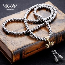 WorthWhile Tactical Buddha Beads Bracelet EDC Outdoor Tools Self-Defense Protection Surviv