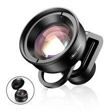 Lente Macro de 100mm para teléfono móvil, lente óptica HD para todos los teléfonos inteligentes