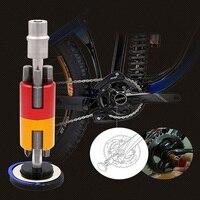 Алюминий велосипедов Invisible набор инструментов для ремонта мульти Функция портативная косметичка отвертка T25 ключ, дюймовый стандарт для за...