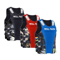Perfecian Water Sports Life Jacket Vest for Fishing Diving Swimming kayak Boating Rescue Float Safety Survival Aid
