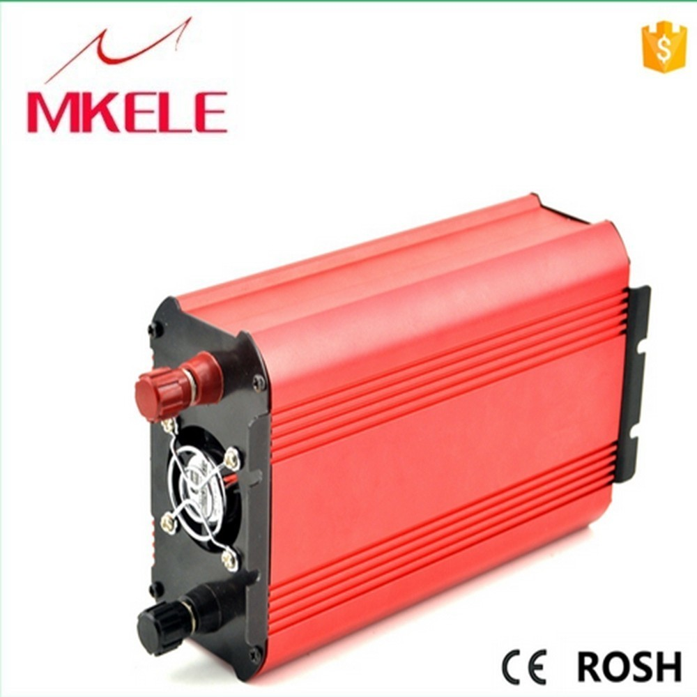 MKP600-122R dc ac pure sine wave 220vac 600w power inverter voltage 12vdc 600 watt for home use made in China