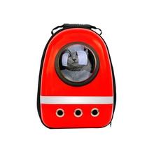 Astronaute Pet chat chien chiot transporteur sac de voyage espace Capsule sac à dos respirant