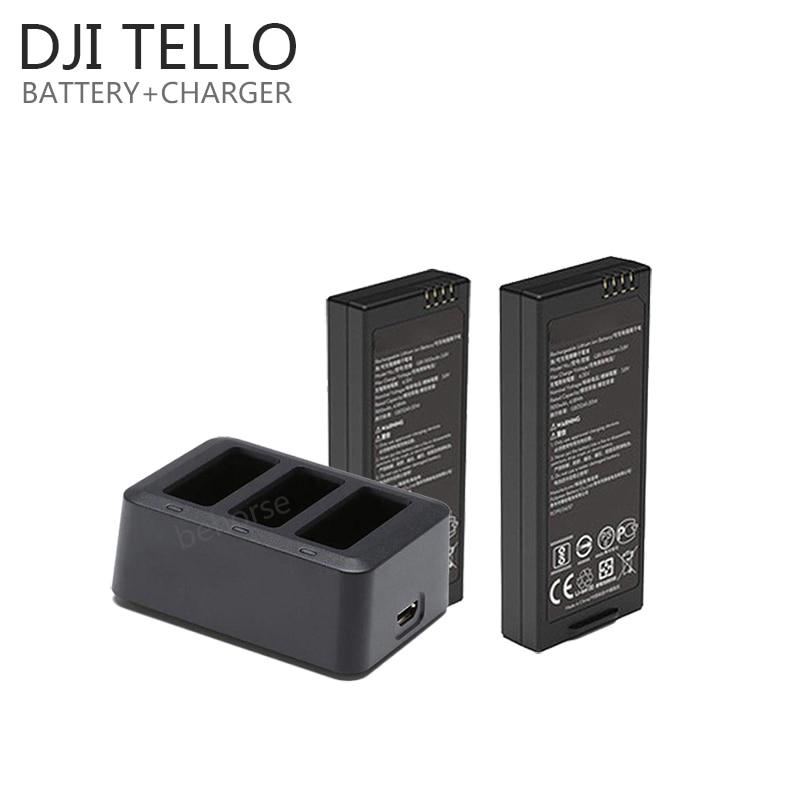 DJI Tello Battery/Quick Multi Charging Hub TELLO Drone Intelligent Flight Batttery Fast Charger Accessories