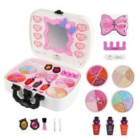 14 Pack Safe Non toxic Water soluble Lighting Cosmetics Toy Set Children's Makeup Gifts Girl Makeup Dream Princess Play House