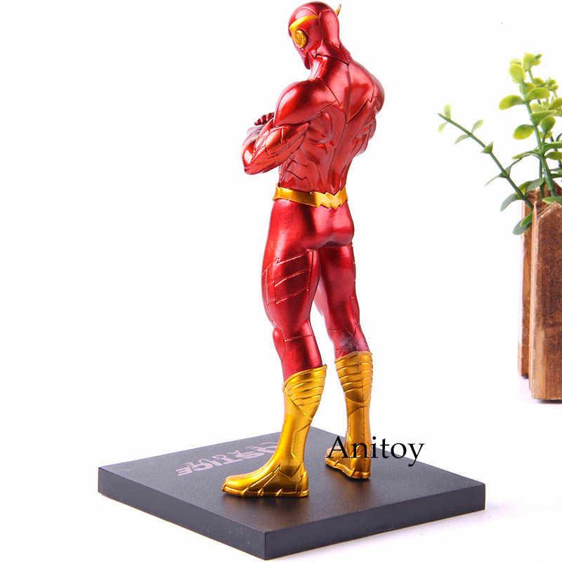 DC The Flash ARTFX + ESTÁTUA 1/10 Scale PVC Action Figure Model Collection Brinquedos 18 cm