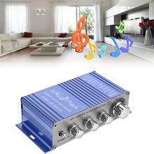 Power-Amplifier Mp3-Input Motorcycle HY2002 2-Channel Audio Car-Stereo Hi-Fi Mini Auto
