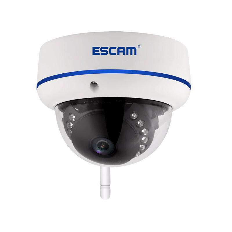 ESCAM Qd800 Wifi Ip Camera Full Hd 1080P 2Mp Onvif Ip66 Dome Infrared Waterproof Motion Detection Camera Eu Plug