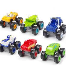 Machine Toy Cars Miracle Cars Blaze Toys Vehicle Car Transformation Toys Best Gifts For Kids(China)