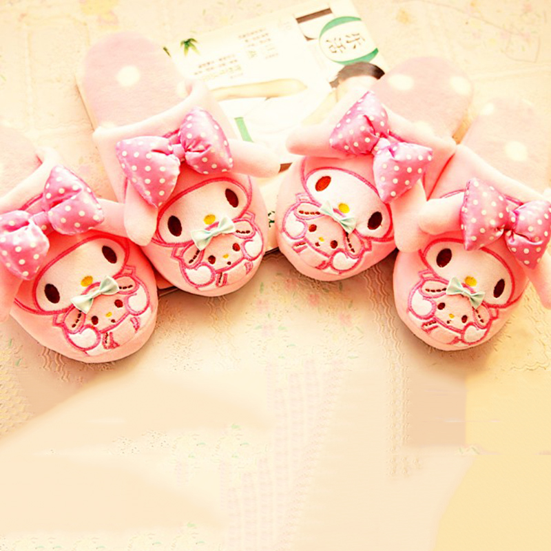 cute cartoon pink bowknot melody tissue box cover holder case lovely gift 1pc