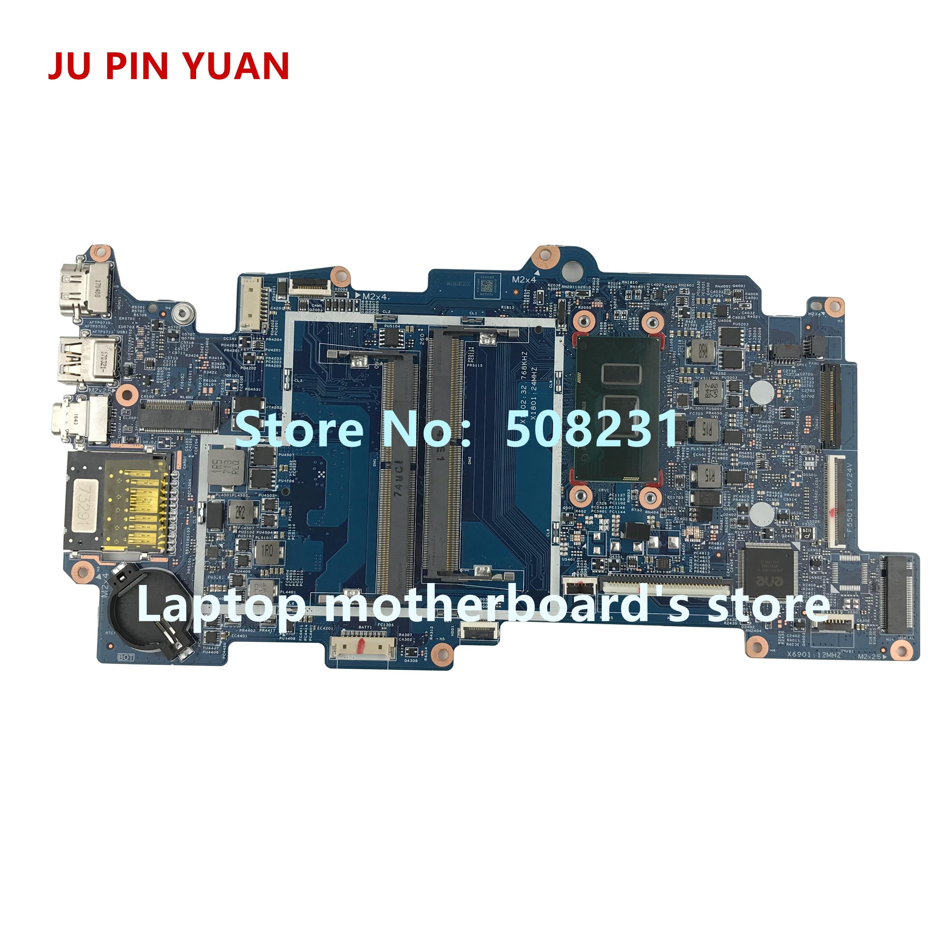 448.07N06.002N JU PIN YUAN 858871-601 858871-501 para HP ENVY X360 CONVERSÍVEL 15-AQ M6-AQ laptop motherboard com i7-7500U