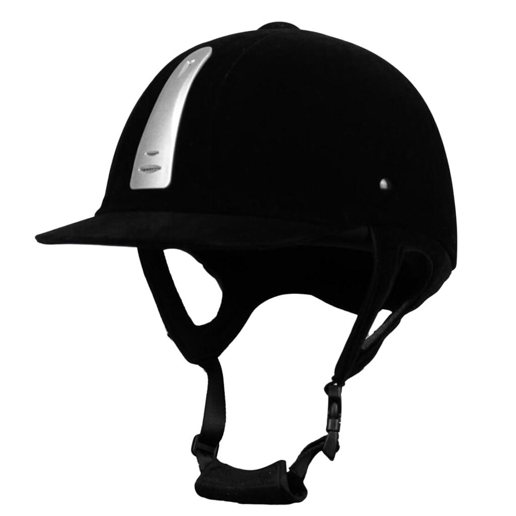 Casque d'équitation Sport équestre casques de scolarité réglables pour les nouveaux cavaliers équestres intermédiaires - 2