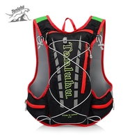 15L Water Bag Molle Pack Backpack Outdoor Camping Camelback Nylon Camel Water Bag for Climbing Running Hiking Cycling