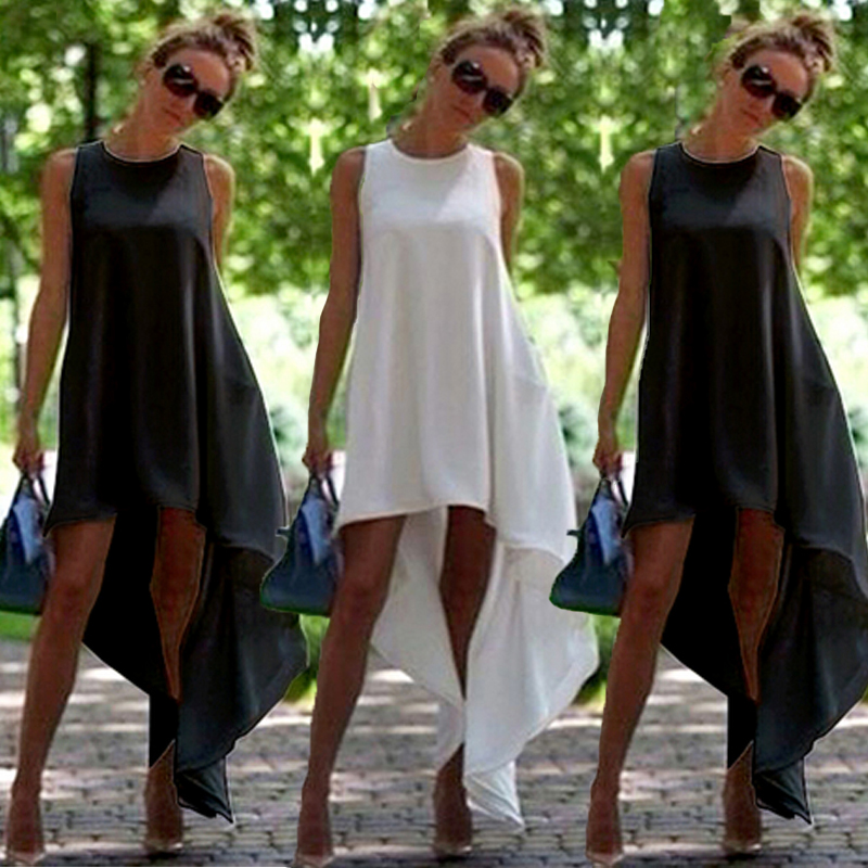 Women Summer Boho Long Maxi Dress Evening Party Beach Dresses Sundress Costume 25